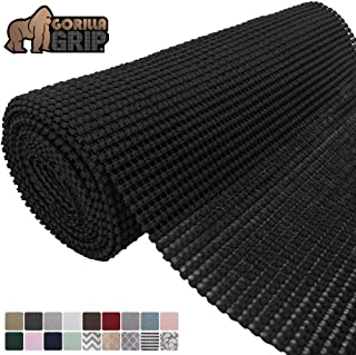 Gorilla Grip Original Drawer and Shelf Liner, Non Adhesive Roll, 12 Inch x 20 FT, Durable..