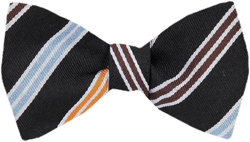 FBTZ-977 - Men's Silk Self Tie Bowtie Tie Yourself Bow Ties