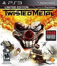 Twisted Metal: Limited Edition [PlayStation 3 PS3 BONUS Metal Black Game] NEW