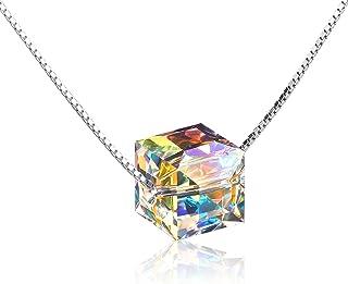 Elegant Love Heart Pendant Necklace Classic Sterling...