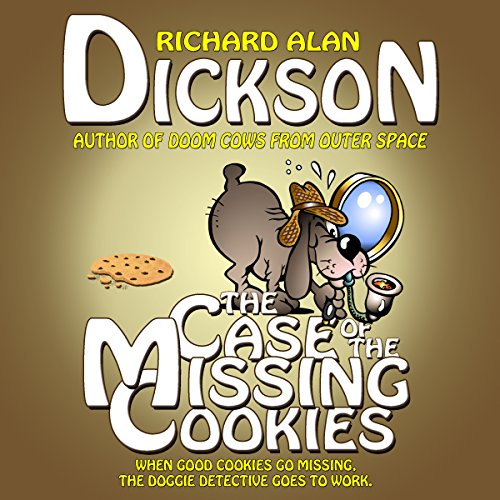 The Case of the Missing Cookies audiobook cover art