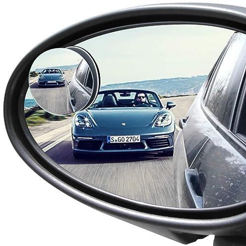 Adjustable Blind Spot Mirror Amazon Com