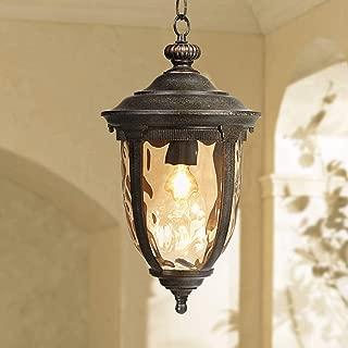 Bellagio Rustic Outdoor Ceiling Light Bronze 18