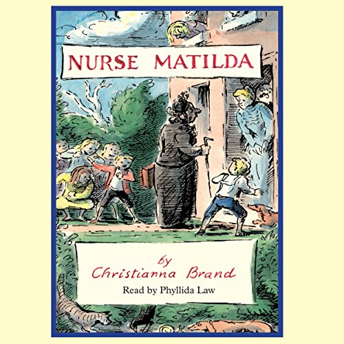 Nurse Matilda audiobook cover art