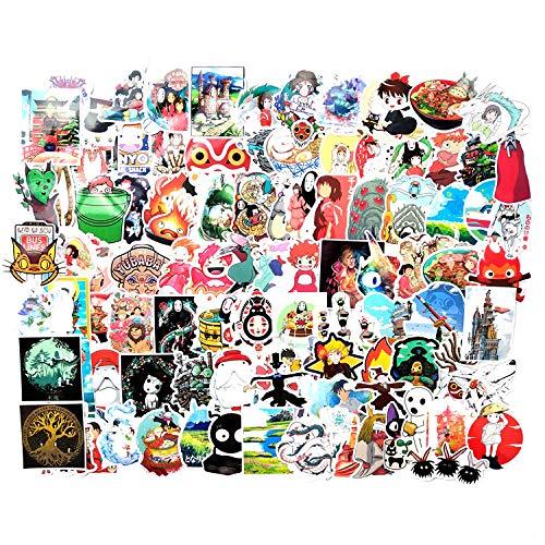 HUNSHA 100 piezas de Niman Hayao Miyazaki serie de películas graffiti pegatinas skateboard coche eléctrico ordenador equipaje pegatinas