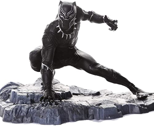 Gflyme Avengers Movie Version Panthère Modèle Jouet Statue Décorative Décorations d'Anime 15  12  11.5cm