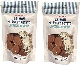 Trader Joe's Salmon and Sweet Potato Dog Treats NET WT. 4 oz (113g), 2-PACK