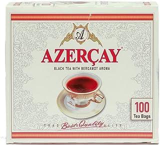 Black Tea with Bergamot Aroma from Azerbaijan 100 Tea Bags 200g (Azercay)