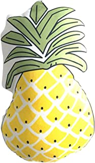 Lemonda Lovely Fruit Pineapple/Cactus Sofa Pillow Cushions Throw Pillow Toys for Kids' Room Bedroom Gift Party Home Car Decorations (Pineapple)