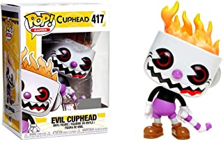 Funko Pop! Games Evil Cuphead 417 Exclusive Figure