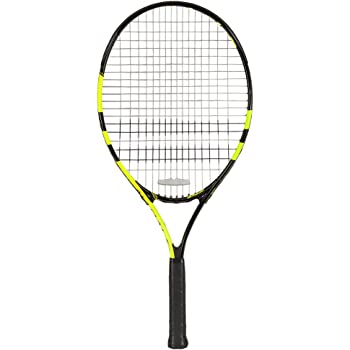 Buy Babolat Nadal Junior 25 Tennis Racquet Strung Grip Size 0 3 375 Black Yellow Online At Low Prices In India Amazon In