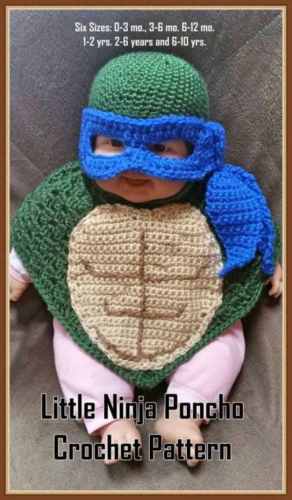 Toddler Crochet Poncho Pattern – Crochet For Beginners