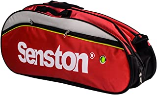 Senston Badminton Racket Bag,Single Shoulder Racket Bag 6 Racquet Bag,Waterproof and Dustproof.