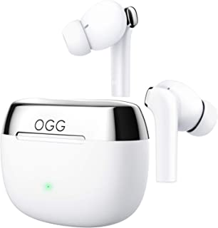 $127 » Sponsored Ad - OGG K6 Wireless Earbuds ANC Bluetooth Earphones, Active Noise Cancelling Headset, Wireless Bluetooth Earbud...