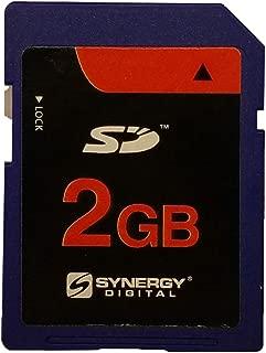 Synergy Digital 2GB Standard Secure Digital (SD) Memory Card Works With Nikon D50 Digital Camera - 2GB Standard Secure Digital (SD) Memory Card