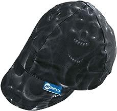Miller 230542 HeadThreads Welding Cap, Ghost Skulls, Size 7 1/8