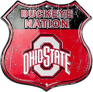 HangTime Buckeye Nation - Ohio State University Route Sign
