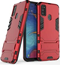 Wellpoint|Designed for| samsung galaxy m30s cover case| samsung galaxy m30s ka cover| samsung galaxy m30s mobile covers| samsung galaxy m30s back case| samsung galaxy m30s backcover| samsung galaxy m30s case| samsung galaxy m30s covers| samsung galaxy m30s mobile back cover| samsung galaxy m30s rugged back cover| samsung galaxy m30s armor case (IRON-Red)