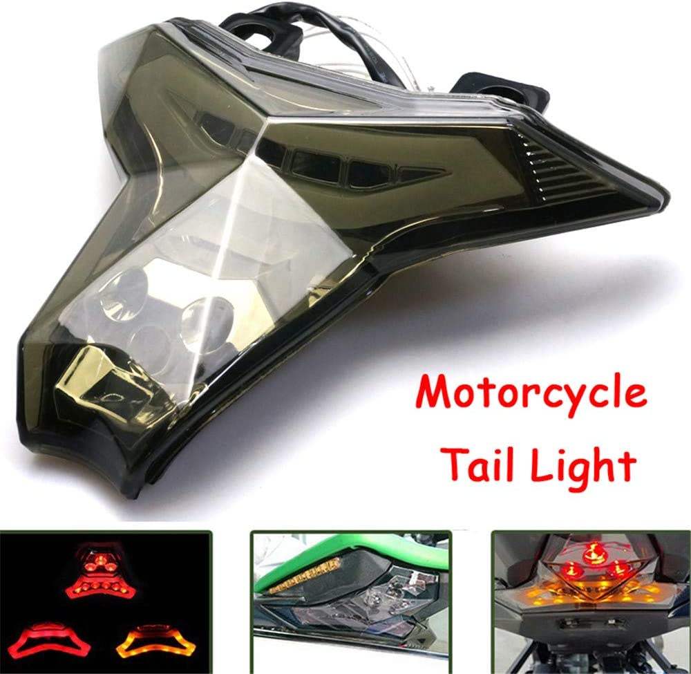 Motorcycle Turn Signal Tail Light Rear Brake Virginia Beach Mall Integrated Max 50% OFF LE