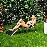 Gärtner Pötschke Lounge-Sonnenliege Malibu, schwarz