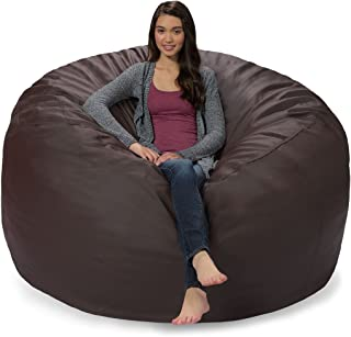 Best brown faux leather bean bag Reviews