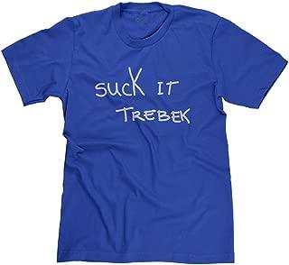 FreshRags Suck It Trebek SNL Celebrity Jeopardy Funny Parody Men's T-Shirt