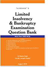 Limited Insolvency & Bankruptcy Examination Question Bank (More than 5000 MCQs)