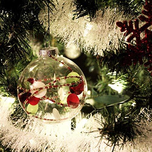 com-four® 3X Girlande Weihnachten - Tannengirlande für eine perfekte Weihnachtsdekoration - Weihnachtsdeko für Christbaum - 200 cm