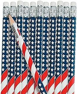 American Flag Pencils (48 Pencils)