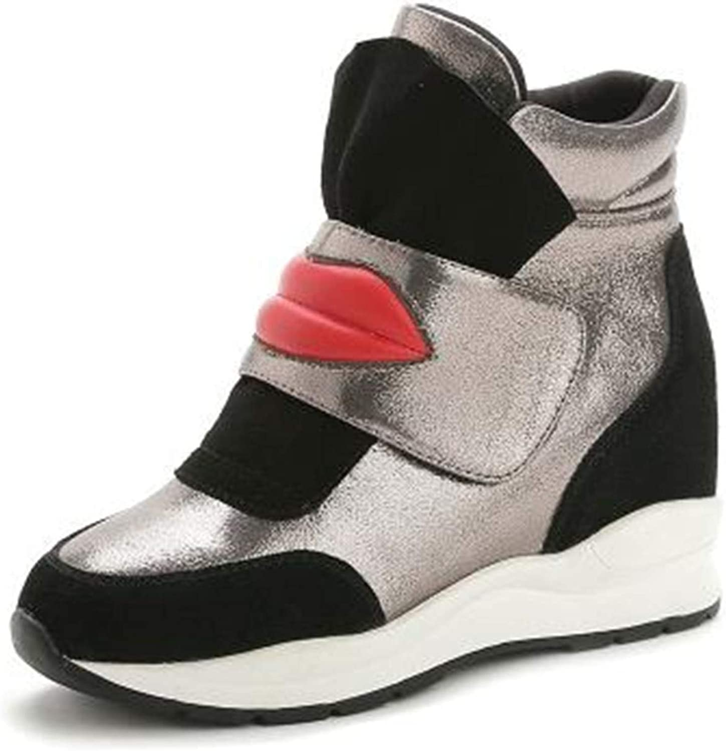 Kongsta and Winter Boots Increased Within High-Top shoes Version of The Big Lips Invisiblewomen Boots