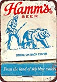 NOT Hamm's Beer Strike on Back Cover Interessante Poster