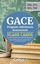 GACE Program Admission Assessment Flash Cards Book 2019-2020: Test Prep Review with 300+ Flashcards for the GACE (200, 201, 202, 700) Exams
