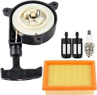 Leopop Recoil Starter for Stihl BR380 BR400 BR420 BR320 BR340 SR340 SR420 Leaf Blower Trimmer Parts Air Filter Spark Plug Fuel Filter Tune Up Kit