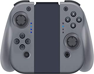 YHT Wireless Joy Con Controller for Nintendo Switch, Replacement Joy Pad Controllers Compatible for Nintendo Switch Console,Comfortable Handheld Gamepad(Grey)