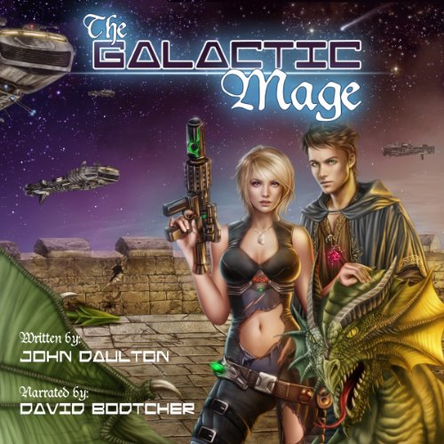 The Galactic Mage (Volume 1) audiobook cover art