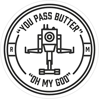 Story Storm Store You Pass Butter Stickers (3 Pcs/Pack)
