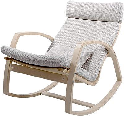 Amazon.com: LIXIONG - Silla mecedora para jardín al aire ...