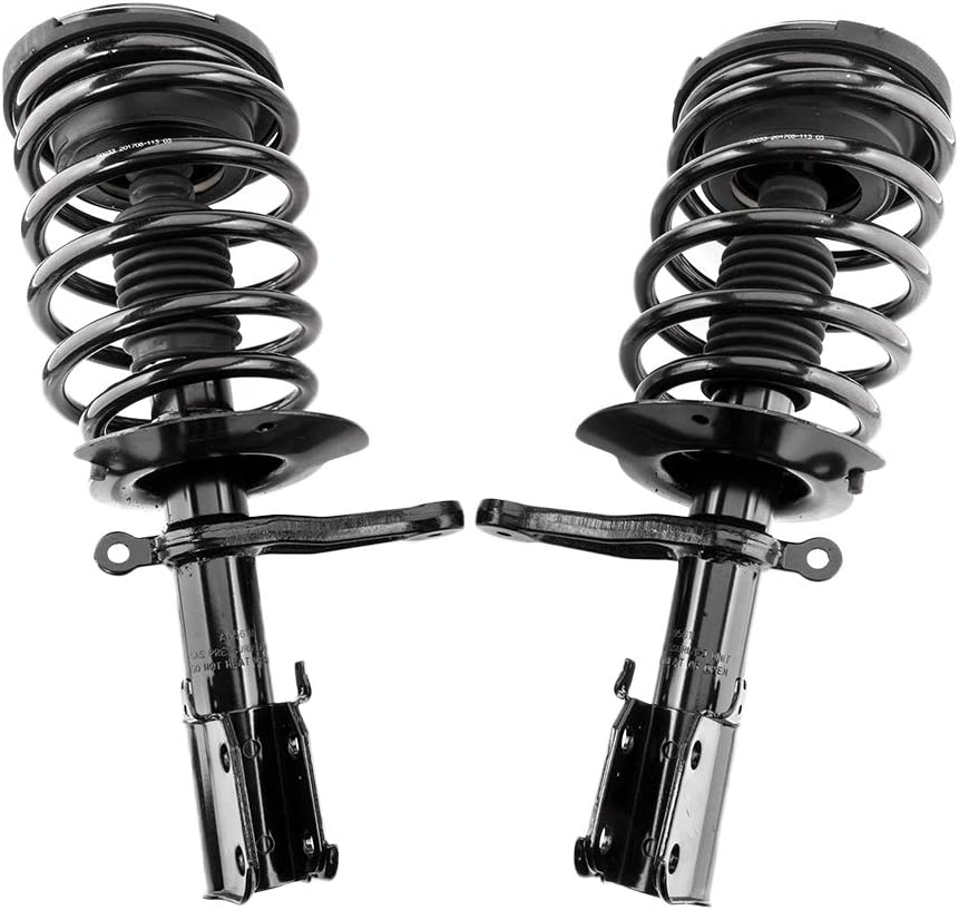 Front Strut Coil Spring Pair For 1993 Max 87% OFF 94 1996 1997 chry Indianapolis Mall Con 95