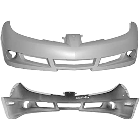 Crash Parts Plus Primed Front Bumper Cover Replacement for 2004-2005 Honda Civic