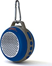 iFox IFS303 Ultra Portable Wireless Bluetooth Speaker with Clip for iPhone iPad iPod Android or PC with FM Radio, AUX, SD and Speakerphone, Outdoor and Indoor (Blue)