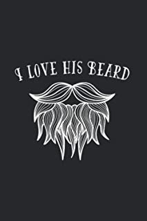 I Love His Beard: I Love His Beard 2021 Planner | Weekly & Monthly Pocket Calendar | 6x9 Softcover Organizer | For Facial ...