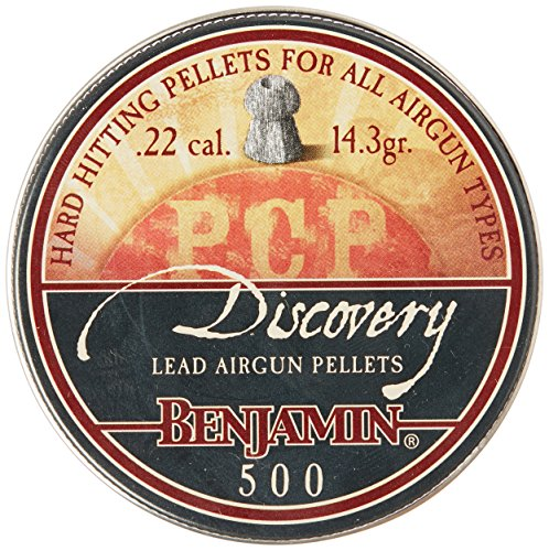Benjamin BHP22 Hollow Point Pellets (500-Count),0.22