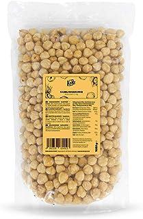KoRo - Geblancheerde hazelnoten 1 kg - Hazelnoten zonder dop, zonder additieven en bewaarmiddelen, ideaal om te bakken of ...