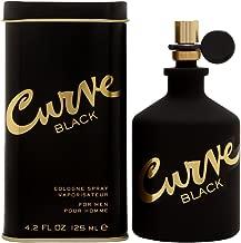 Liz Claiborne Curve Black Cologne Spray for Men, 4.2 Ounce