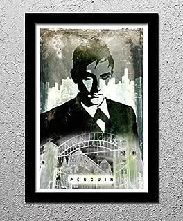 Penguin - Gotham - Arkham Asylum - Batman - Original Minimalist Art Poster Print