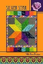 Villa Rosa Silver Star Quilt Postcard Quilting Pattern
