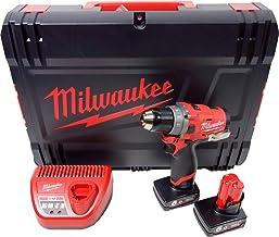 Milwaukee 0m12fdd de 602X Fuel–Taladro atornillador (12V/6.0Ah, red