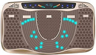 KOSHSH Motor 3D Plataforma Vibratoria Terapia Magnética Masaje Muscular Altavoces Máquina Oscilación Vibración Sacudida Todo Cuerpo