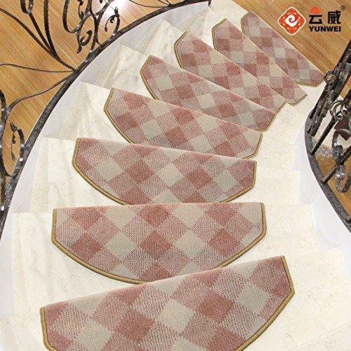 BLZZR*De extra dikke tapijten en wandtapijten van lijm zijn zelfklevende pads van massief hout Inicio Shop gevuld voor meisjes Boudoir Parada Pad, 75 x 24 cm, Boudoir (rechthoekig)