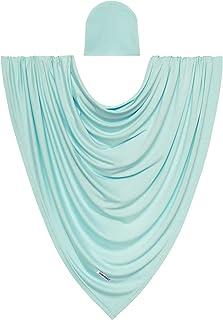 Posh Peanut Unisex Baby Swaddle Blanket - Large Premium Knit Viscose from Bamboo - Infant Swaddle Wrap, Receiving Blanket ...